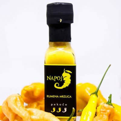 Čili omaka rumena mrzlica, Napoj