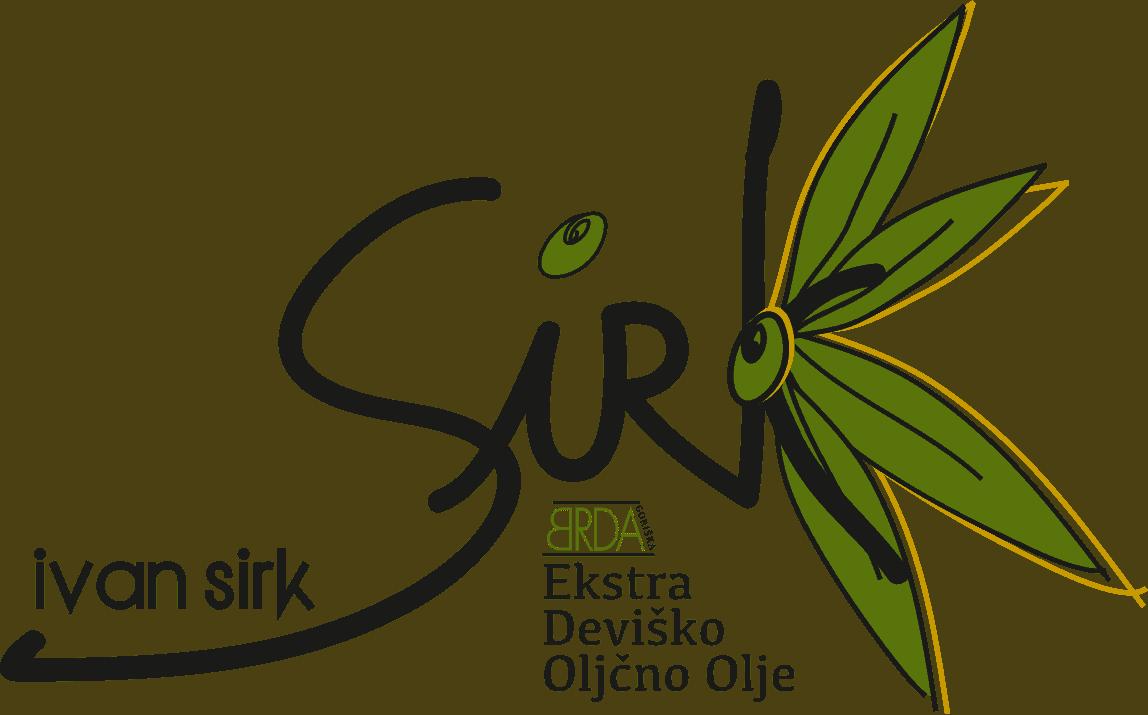Ivan Sirk, oljčno olje, Logo