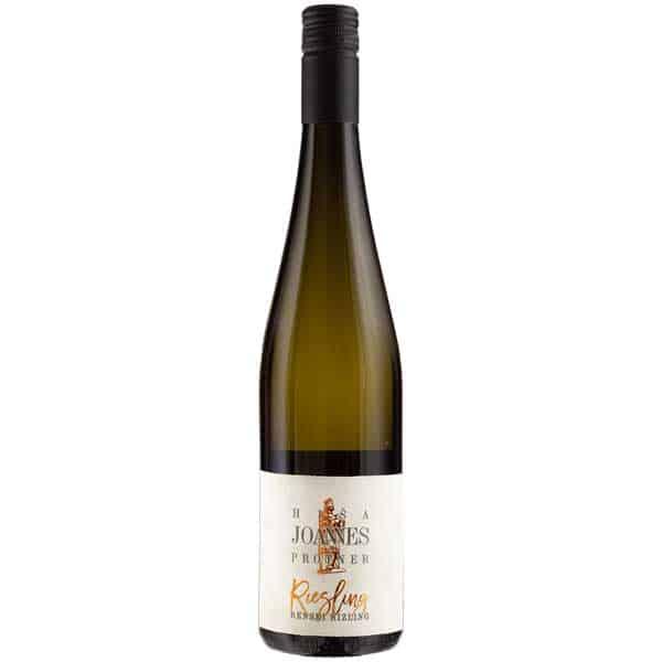 Renski rizling polsuho, vino, Joannes Protner