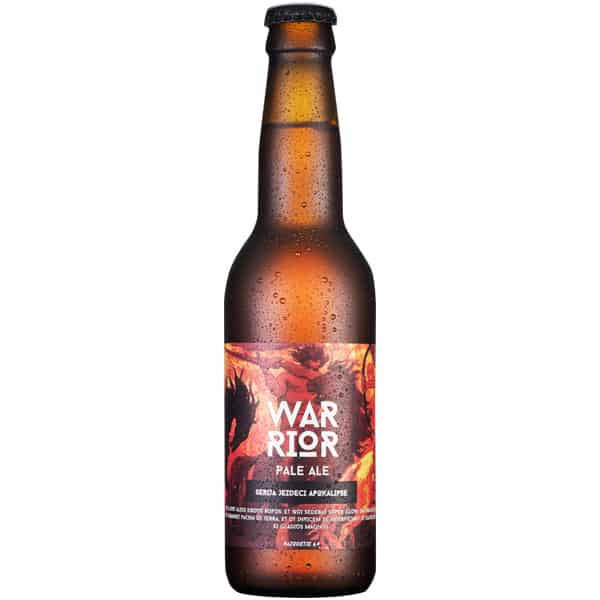 Reservoir Dogs pivo Warrior Pale Ale